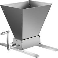 Malt Muncher Grain Mill With Base Plate Home Brew 2 Roller With Hopper
