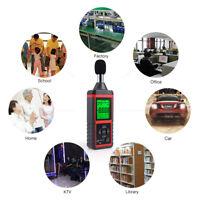 Digital Sound Level Meter 30-130dB Car Audio Noise Decibel Monitoring Tester US