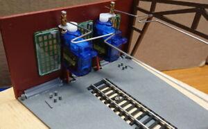 Servo Steuerung für Ringlokschuppentore, Tore einzeln programmierbar (3.0.4)