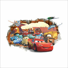 Disney Pixar Car Lightning McQueen Mater Nursery Kids Wall  Stickers Fun  2019