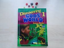 Discovering God's World grade 1 Science student textbook homeschooling Abeka