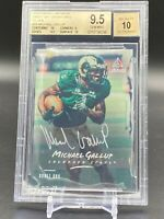 2018 Michael Gallup Panini Luminance Draft Auto Rookie RC BGS 9.5 GEM Cowboys