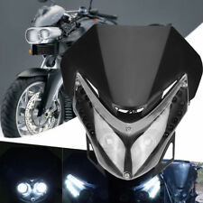 1* 12V Universal Motorcycle LED Streetfighter Headlight Turn Signal Lamp Fairing
