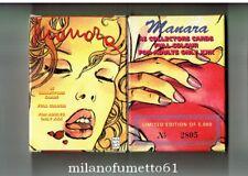MILO MANARA Satz von 45 PROMO CARDS - Karten Sammlerstück limitierte Auflage