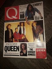 Q Magazine (Mar 1991 Uk Magazine)Queen_Lemmy Of Motörhead_Cowboy Junkies