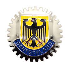 Vintage Classic Car Accessory Deutschland Grill Badge VW Porsche 356 911 Merc