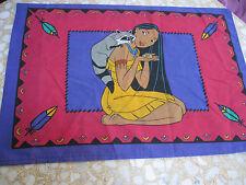 Set of 2 Disney Princess Pocahontas Indian Cartoon Movie Pillow Case {Fabric}