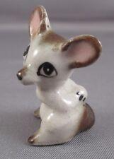 Miniature Vintage Mouse Figurine Mice Porcelain Ceramic Animal Tiny Mini 1inch
