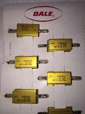 5 Pack Dale 10 Watt 487 Ohm 1 Tolerance Resistor