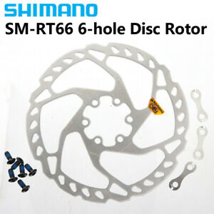 Shimano Deore SLX SM RT66  6 Bolt Disc Brake Rotor 160mm 180mm 203mm