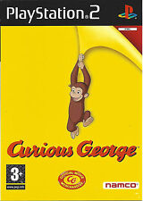 CURIOUS GEORGE for Playstation 2 PS2 - with box & manual - PAL