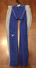 Speedo Fastskin II Legskin Mens Swimsuit Size 36 Compression Competition Lycra