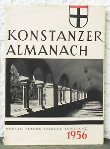 KONSTANZER ALMANACH  Illustriertes Jahrbuch 1956   Konstanz