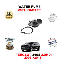 pour Peugeot 3008 2.0 HDI 2009- >2016 POMPE À EAU AVEC JOINT D'étanchéité