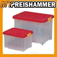 HSB 5 X Unterbettkommode Aufbewahrungsbox Stapelbox Eurobox 60X40X18CM 8€/Box