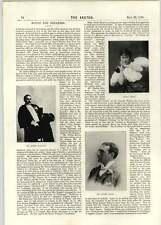 1896 Dr David Rennet Mr Cooper Cliffe Mr Robert Hillyard Cecile Brani