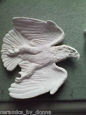 EAGLE TRAY DISH TEABAG HOLDER CERAMIC READY to PAINT JEWELRY spoon Rest