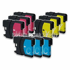 9 Color LC61 Ink Cartridges for Brother DCP-365CN DCP-385CW DCP-6690CN DCP-J125