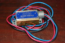 Micro Switch, Bzln-Lh5, 15A-125, 250 Or, 480 Vac, Issue No. L-818,