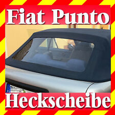 Fiat Punto Convertible Rear Windscreen Green Tinted with Manual (1994–1997)
