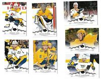 2018-19 Upperdeck Series 2 + series 1 FULL Team set Nashville Predator(13 Cards)