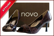Novo Open Toe Synthetic Shoes for Women
