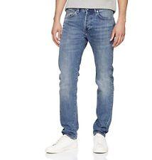 """Edwin ED 80 Slim Tapered Kingston Blue, Sandpiper Clean, Denim Jeans W33"""" L32"""""""