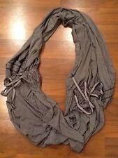 Lululemon Inner Element Wanderlust Scarf Dress Top O/S Cashew And Coal Stripe