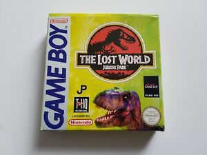 The Lost World Jurassic Park - Nintendo Gameboy Game [EUR] - CIB - Boxed/manual