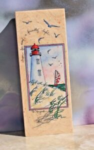 Stamps Happen, A FRIENDLY LIGHT, #80150 New  FREE SHIP!