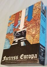 Vintage Avalon Hill Fortress Europa 1980Extra: Unpunched Allies counters