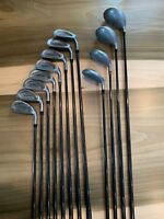 Vulcan Q-Pointe Irons, Woods, and Driver Set (PW-3, Driver, 3/5/7 Wood)