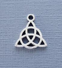 5pcs Pendant Celtic Knot Charm Dangle Silver tone Jewelry findings DIY c225
