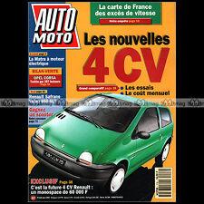 AUTO MOTO N°116 HONDA CB SEVEN FIFTY BMW K100 LT HONDA GL 1500 GOLD WING 1992