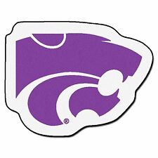Kansas State Wildcats Mascot Decorative Logo Cut Area Rug Floor Mat