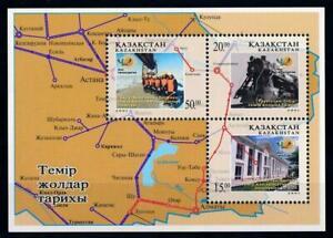 Kazakhstan 2011. Train. Railways.MI BL 22. Mini Sheet. MNH**