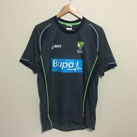 Cricket Australia Asics Bupa 2014 Training Shirt Mens Large