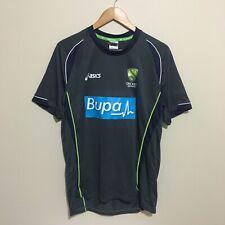 Cricket Australia Asics Bupa 2014 Training Shirt Mens Large