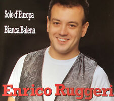 CD PROMO EUROVISION ITALY ITALIA 1993 SOLE D'EUROPA ENRICO RUGGERI