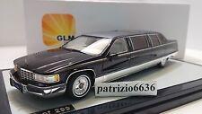 Glm Models 1/43 Cadillac Fleetwood Limousine 1995 Black Art. GLM43100401