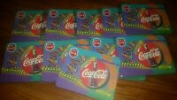 Lot of 10 - TEN 1998 Coca-Cola Always CocaCola Mouse Pad Coke Brand New Sealed
