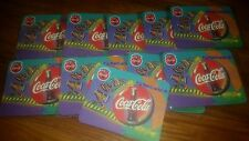 Lot of 2 TWO 1998 Coca-Cola Always CocaCola Mouse Pad Coke Brand New Sealed soda