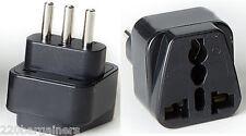 Italy Plug Adapter - Universal Plug to Italian 3 Pin Plug