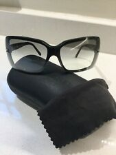 Chanel 5065 black large sunglasses + hard case + cleaning cloth
