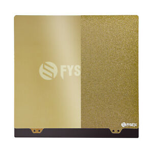 Gold Double-Sided Steel Plate + Magnetic Sticker B Side +PEI for FYSETC JanusBPS