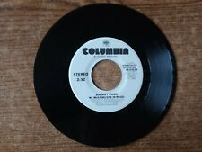 1982 PROMO VG++Johnny Cash  ‎– We Must Believe In Magic 38-03524 45