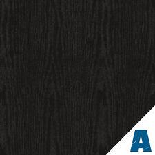 Pellicola Adesiva Rovere Nero Opaco  larg. 122 cm AL METRO LINEARE effetto legno
