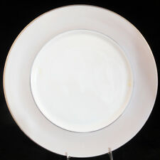 """FEDERAL PLATINUM FROST by Lenox Round Platter 11.75"""" NEW NEVER USED made in USA"""