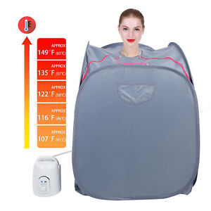 Portable Infrared Home SPA | One Person Steam Sauna for Detox & Weight Loss 1.5L
