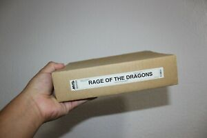 Rage of the Dragons BOX, INSERTS, MANUAL AND MOVES LABELS + GIFT NEO GEO MVS